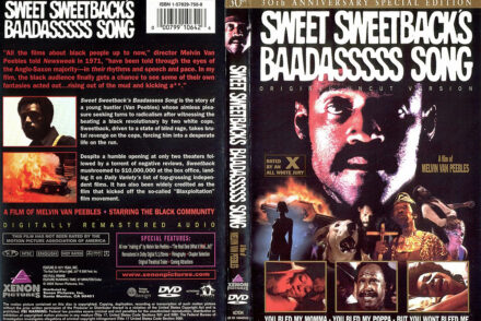 Sweetback DVD Cover