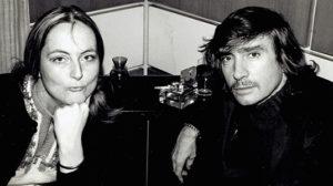 Pru with playwright Edward Albee